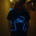 Tron'd my backpack